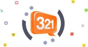 321chat.com logo