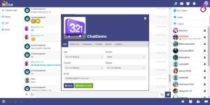 321chat.com page
