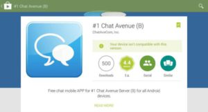 Chat-Avenue play store