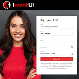 IWantU.com main page