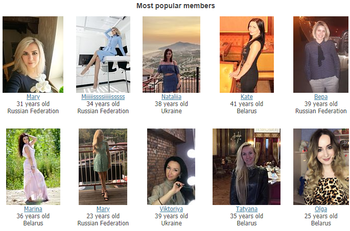 Member Structure russian dating