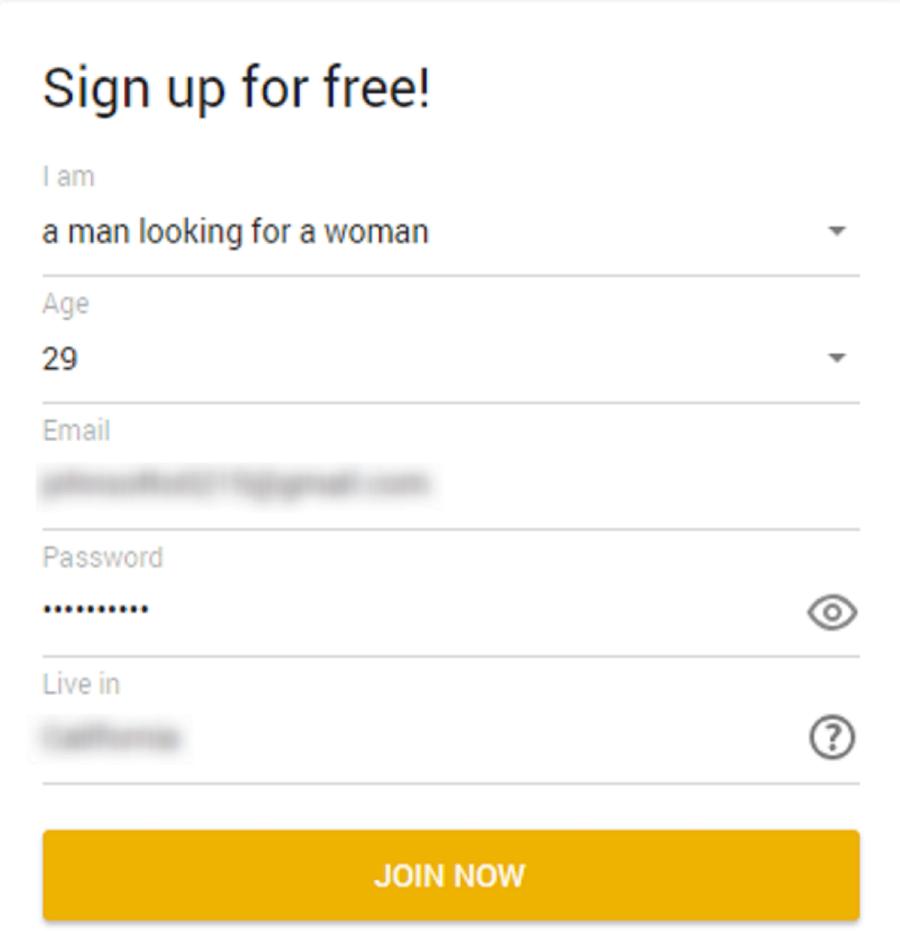 OneNightFriend sign up