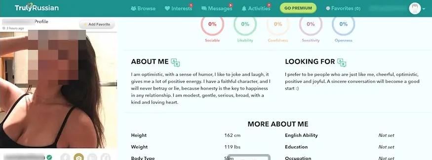 Profile Quality trulyrussian